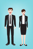 Business man Character style Royalty Free Stock Photo