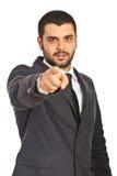 Business man choose you Stock Photo
