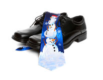 Business Man Christmas Tie Royalty Free Stock Photos