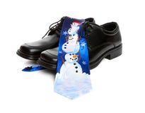 Business Man Christmas Tie Royalty Free Stock Photos