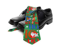 Business Man Christmas Tie Royalty Free Stock Images