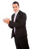 Business man clapping Royalty Free Stock Images