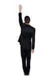 Business man climb something Stock Photography