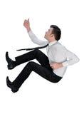 Business man climb something Stock Photo