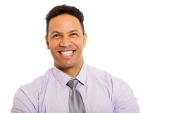 Business man close up Royalty Free Stock Photo
