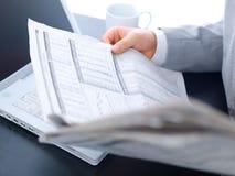 Business man Closeup Stock Photography