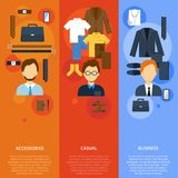 Business Man Clothes Stock Images