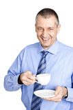 Business man coffee Stock Images