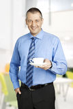 Business man coffee Stock Photo