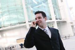 Business Man Communication Royalty Free Stock Image
