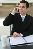 Business Man Communication Royalty Free Stock Photos
