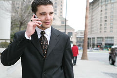 Business Man Communication Stock Images