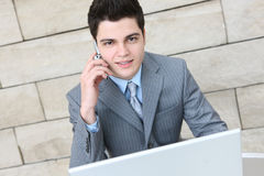 Business Man Communication Royalty Free Stock Images