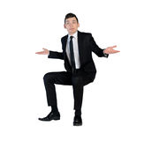 Business man confused expression Stock Photos