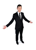 Business man confused Royalty Free Stock Photos