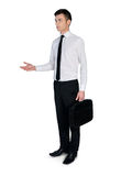 Business man confused Royalty Free Stock Photography