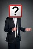 Business man confusion Stock Photos
