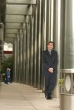 Business man in a corporate environment Stock Photography