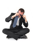 Business man in crisis Stock Image
