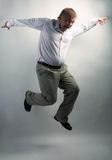 Business man dancing Royalty Free Stock Photography