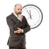 Business man deadline Stock Photo