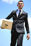 Business Man delivery Royalty Free Stock Photography