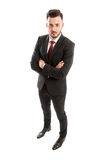 Business man from different angle Stock Image
