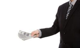 Business man Displaying Stock Photo