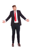 Business Man Does Not Know Royalty Free Stock Photo