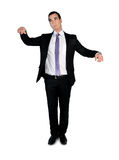Business man doll concept Royalty Free Stock Image