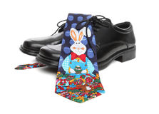 Business Man Easter Tie Royalty Free Stock Image