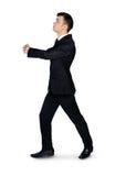 Business man embrace something. Business man embrace something Stock Images