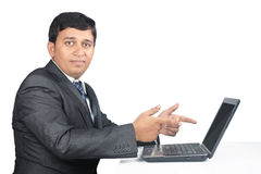 Business Man with Expression Stock Photos