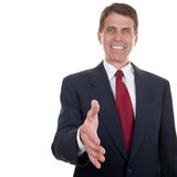 Business Man Extending Hand Royalty Free Stock Photo