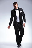 Business man in fashion tuxedo Royalty Free Stock Photography