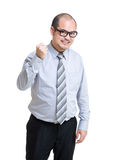 Business man fist up Stock Photos