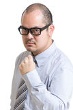 Business man fist up Royalty Free Stock Photo