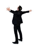 Business man freedom concept Stock Photo
