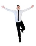 Business man freedom concept Stock Image