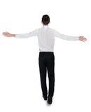 Business man freedom walk Royalty Free Stock Photo