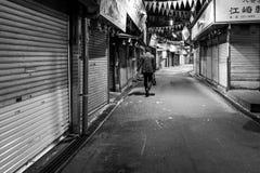 Business man in Fukuoka, Japan. On street Stock Photography