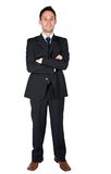 Business man - full body Stock Images