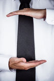 Business man gesturing Stock Photography
