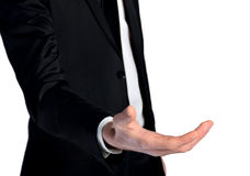 Business man give hand Royalty Free Stock Photo