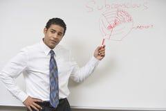 Business Man Giving Presentation Stock Photos