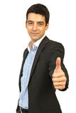 Business man giving thumb up Royalty Free Stock Photography