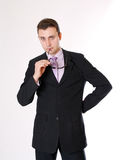 Business man with glasses Royalty Free Stock Image