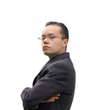 Business man with glasses - jc Royalty Free Stock Photos