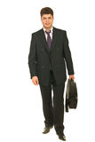 Business man going to work Royalty Free Stock Image