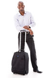 Business man going on a trip Stock Photos